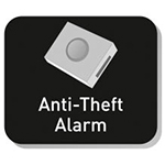 anti theft alarm in e-bike