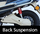 back suspension in e-bike