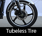 tubless tire in e-bike