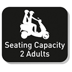 seating capacity in ebike