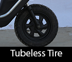 tubless tire in mini sport 63